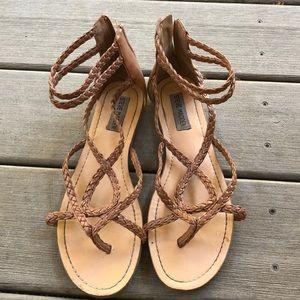 Zip up sandals!